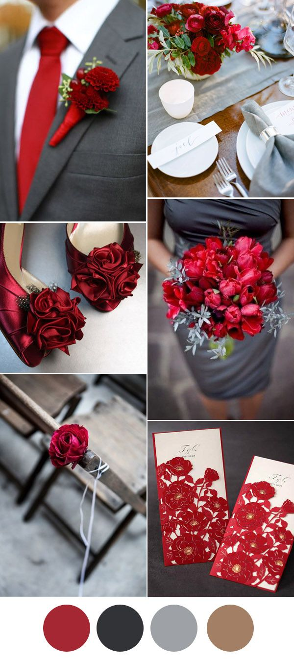 best 25 red wedding colors ideas on pinterest maroon wedding