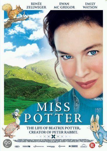 Miss Potter. Levensverhaal van de kinderboekenschrijfster en illustratrice Beatrix Potter (1866-1943)