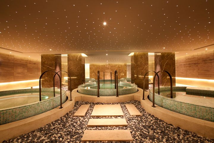 Spa pool at swisstouches hotel xi 39 an designed by hba for Design hotel xian