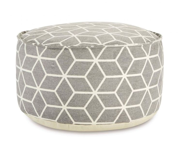 Image result for grey geometric bean bag