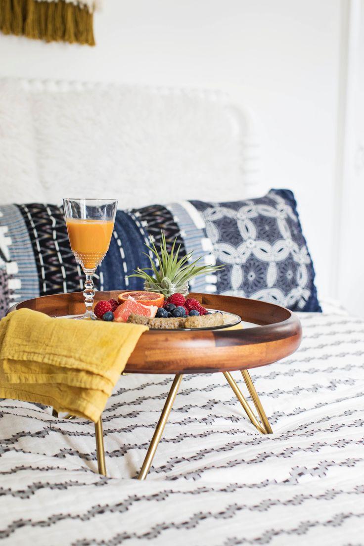 Hairpin Leg Breakfast Tray DIY – A Beautiful Mess