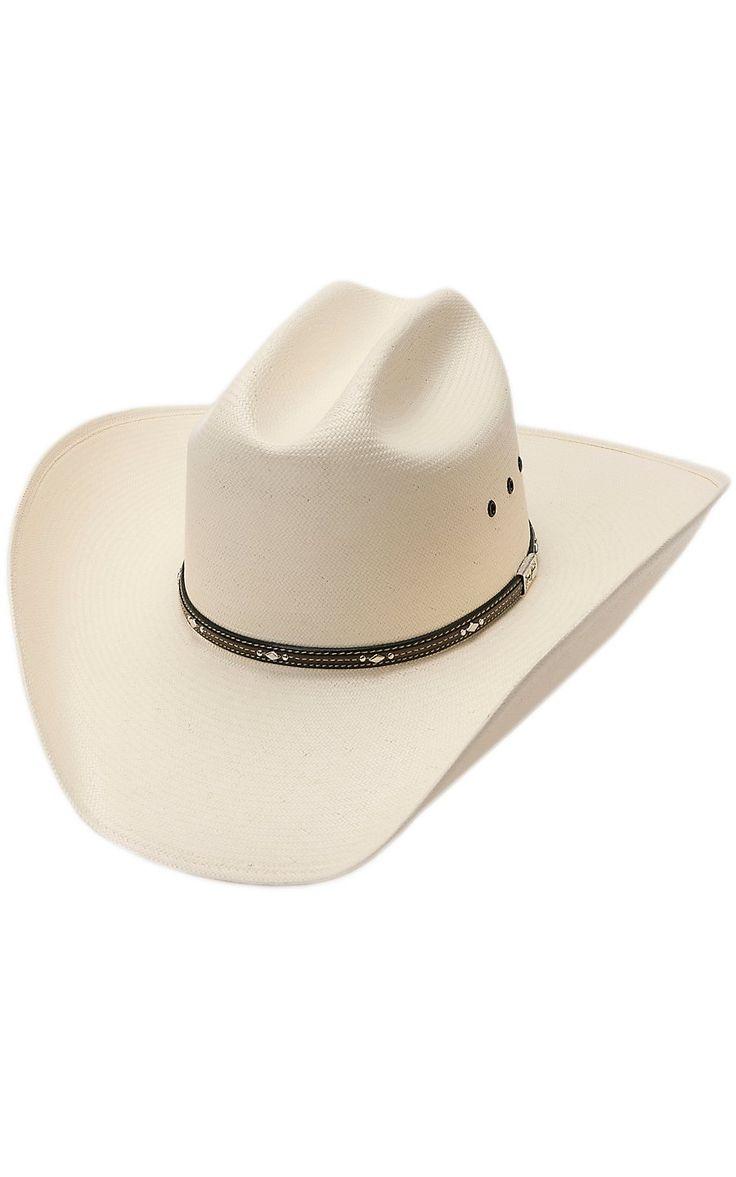 Resistol 10X George Strait Kingman Straw Cowboy Hat