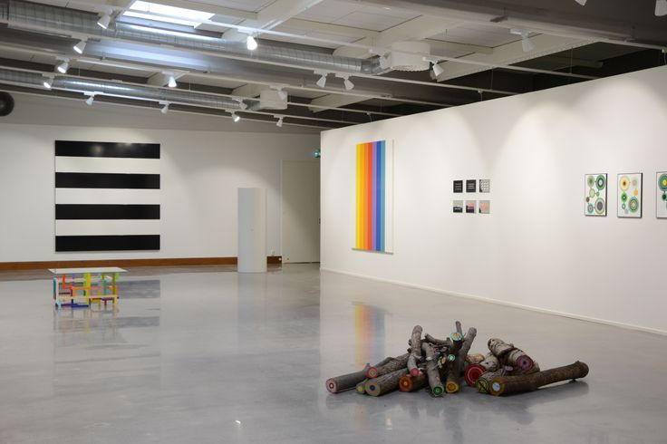 Ready for visitors! Preparations completed on our exhibition '13 är ett Lyckotal – Samtidskonst från Sverige'
