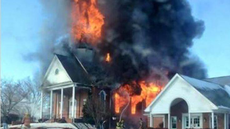 ROCKINGHAM COUNTY, N.C. -- Crews respondedto a three-alarm church fire at Mt. Carmel United Methodist Churchat 361 Mt. Carmel Church Road in Reidsville on Friday. Rockingham County dispatchers sa...