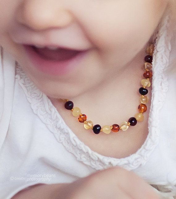 Hey, I found this really awesome Etsy listing at https://www.etsy.com/listing/121654698/rainbow-amber-teething-necklace-for