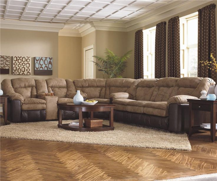 Try this large extra padded sectional. # : sectionals that recline - Sectionals, Sofas & Couches