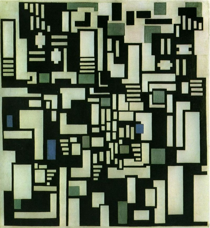 Theo van Doesburg - Composition IX, 1917