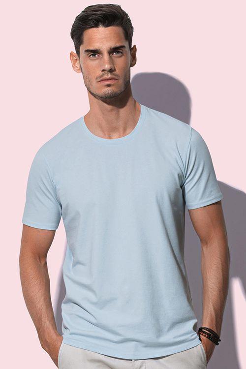 Tricou de bărbați Clive Stedman din 95% bumbac pieptănat, ring spun şi 5% elastan #tricouri #stedman #personalizate #imprimate #brodate