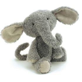 PELUCHE VINTAGE ELEPHANT 35 CM
