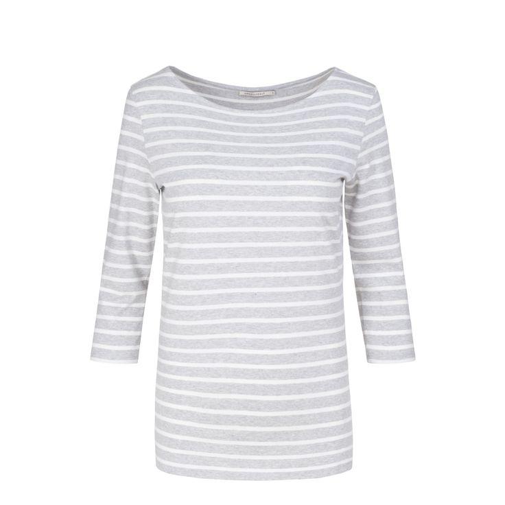 Darja Stripes - Grey/White - Armedangels