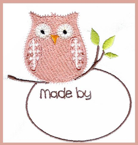 Embroidery Quilt Label Designs : 17 Best images about Quilt Labels, Embroidered on Pinterest Fonts, Quilt and Quilt labels
