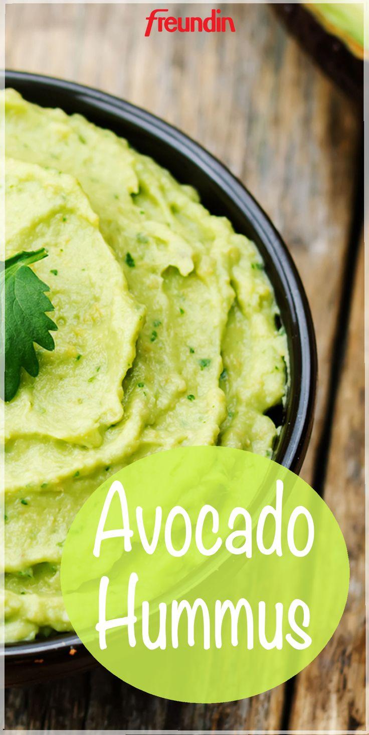 Rezept: Leckerer Avocado-Hummus – Freundin
