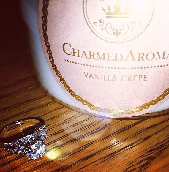 A sample ring you can win from Charmed Aroma Candles. Visit www.charmedaroma.com to order yours today!