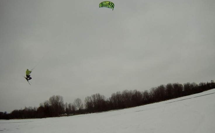 Rickmaster going high in snow