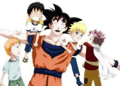 Goku es el padre de todos los animes,pero no significa que estos animes no sean increibles
