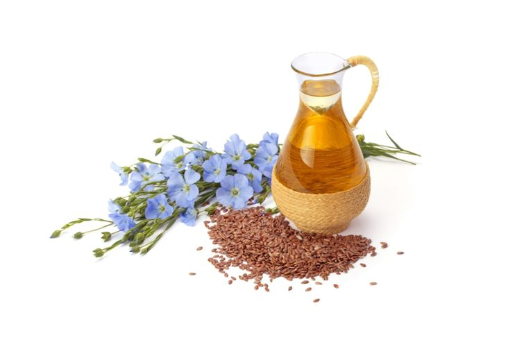 Leinöl Wirkung - Pflanze, Samen, Öl