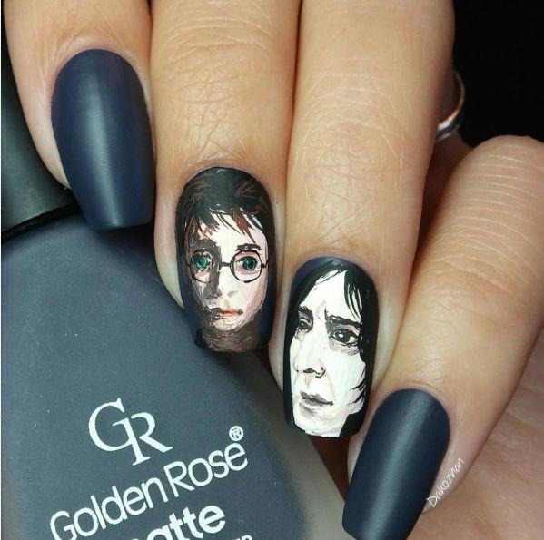 Harry Potter Nail Art: Magic at Your Finger Tips | Guff