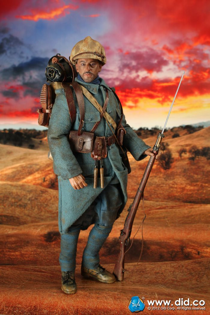 Internet, you are a strange and wonderful place sometimes. In case you ever wanted a doll of Jean Reno as a French infantryman from WW1.