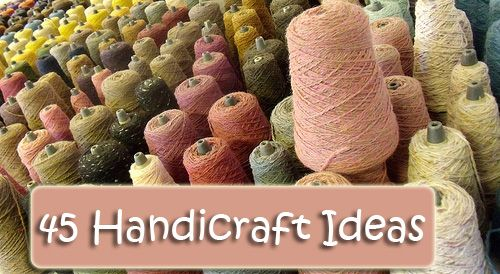 Charlotte Mason encouraged us to teach our children useful skills that could benefit them throughout life. Here is a list of 45 handicraft ideas for your homeschool.