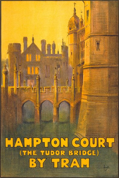 Hampton Court (The Tudor Bridge) By Tram.
