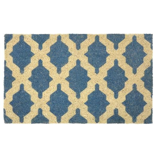 shop moderm room furniture for kosas home isabella coir doormat great deals on all accents