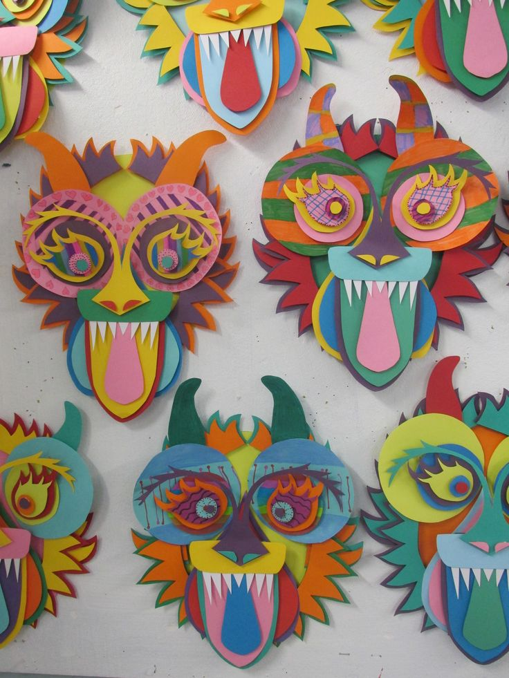 17 best ideas about cool masks on pinterest cool for Emotion art projects