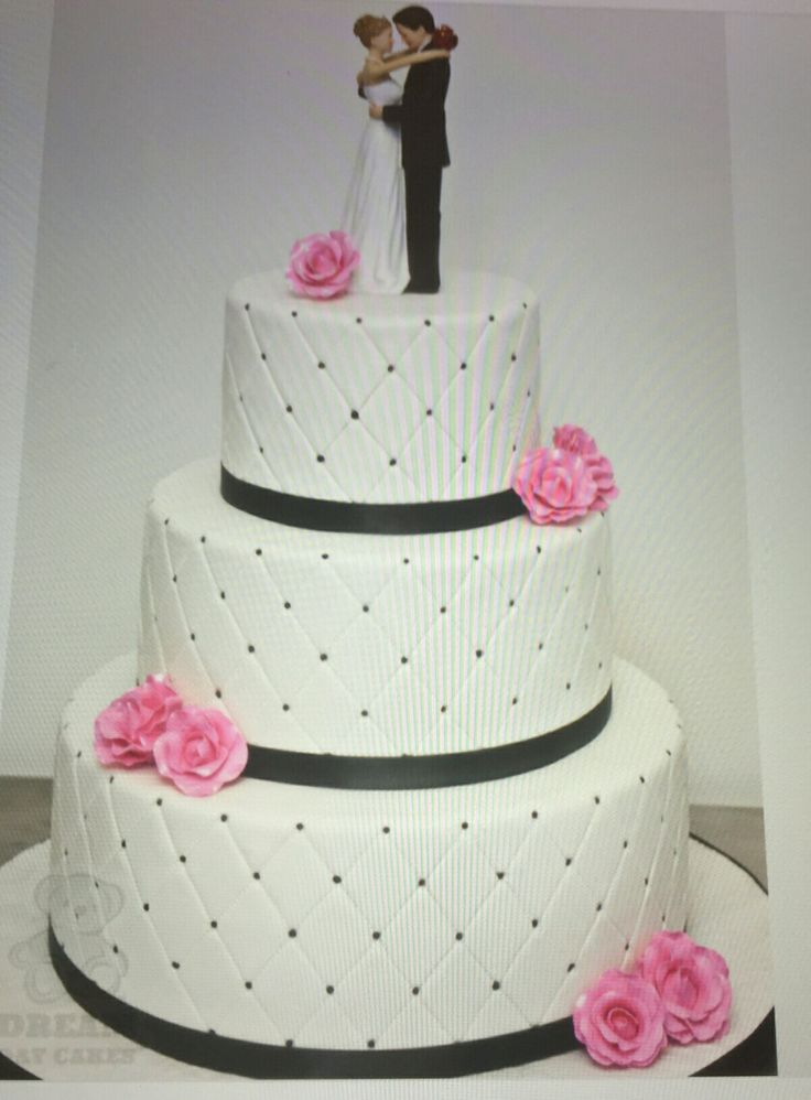 Our cake! We will incorporate our wedding colors (silver & sangria) into it :)