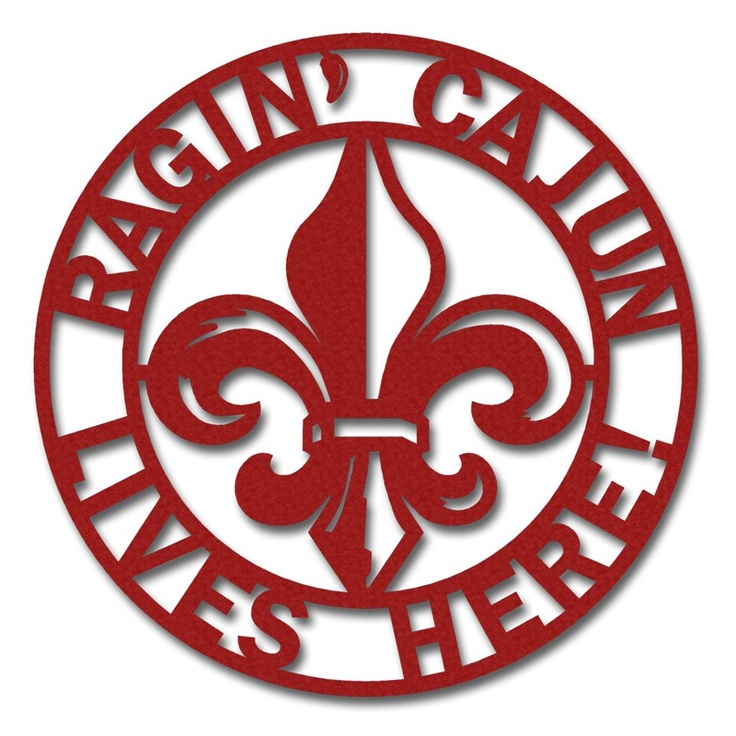 Ragin' Cajun Lives Here