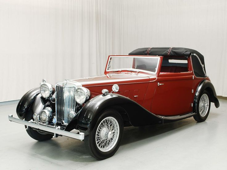 1937 MG SA Drophead Coupe