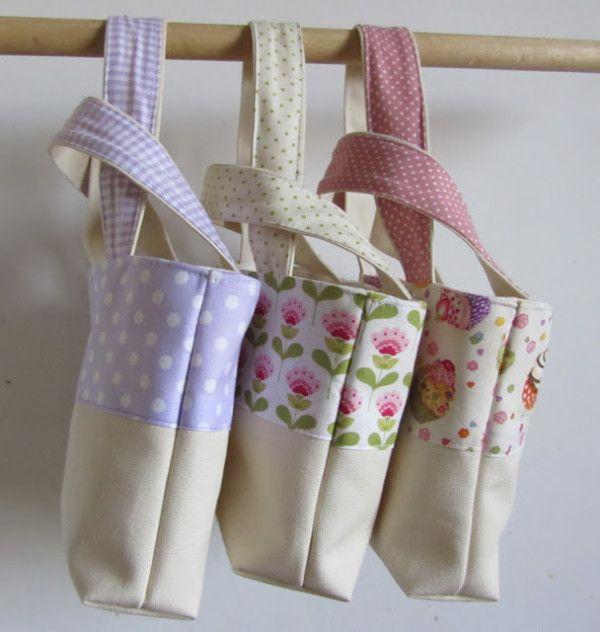 Come cucire una borsa in stoffa Tutorial in italiano
