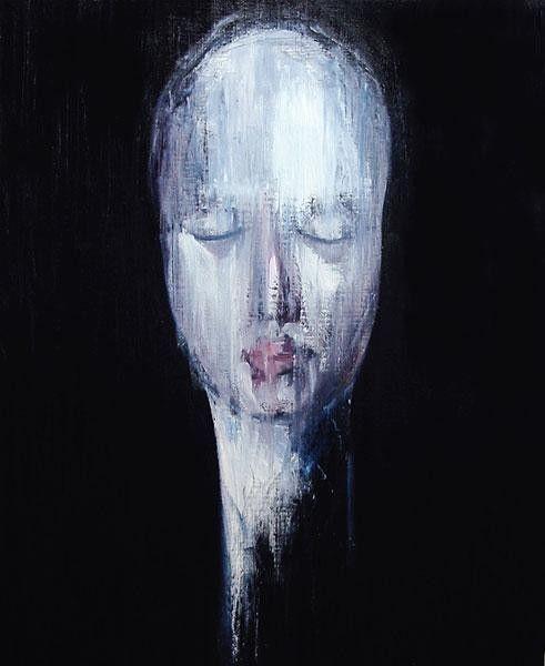 'Self-Portrait in Bacon' 2006 Daisuke Ujuan
