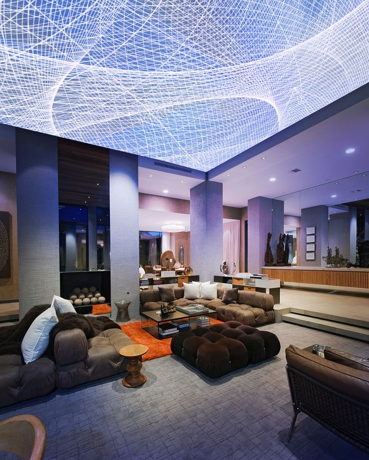 Albert Espona Digital Art Lightiful Backlit Stretch Ceiling Architecture Lobby DesignHotel LobbyArchitecture Interior