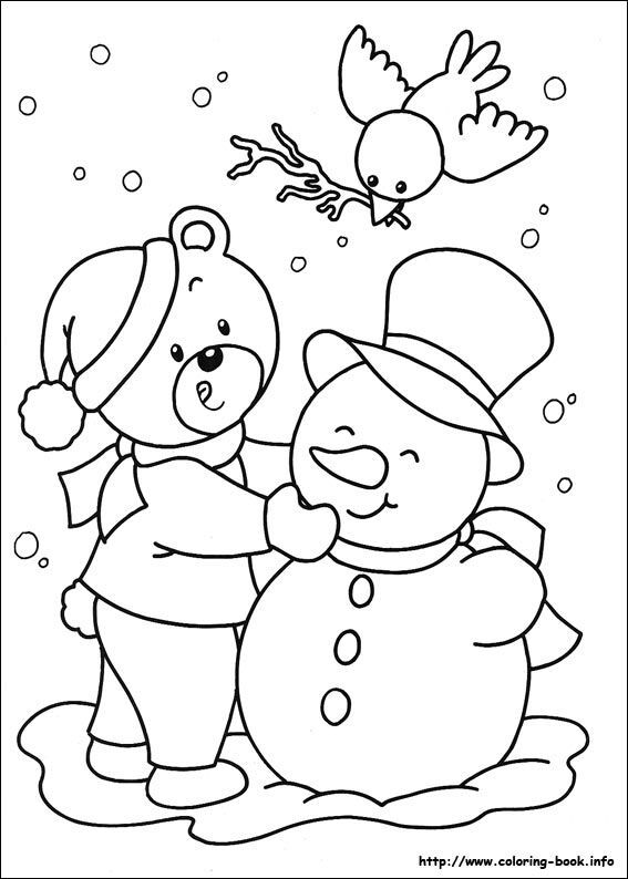 Christmas Coloring Pages 64 Kids Printables