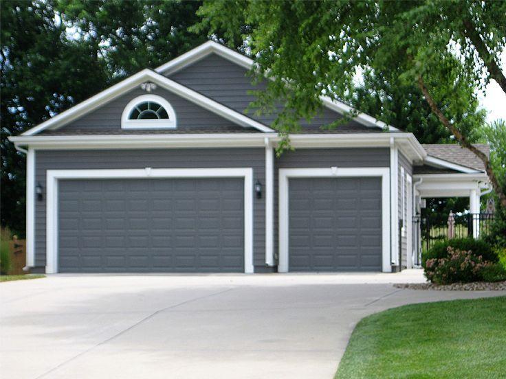 153 best 3 car garage plans images on pinterest car for Detached 3 car garage plans with apartment