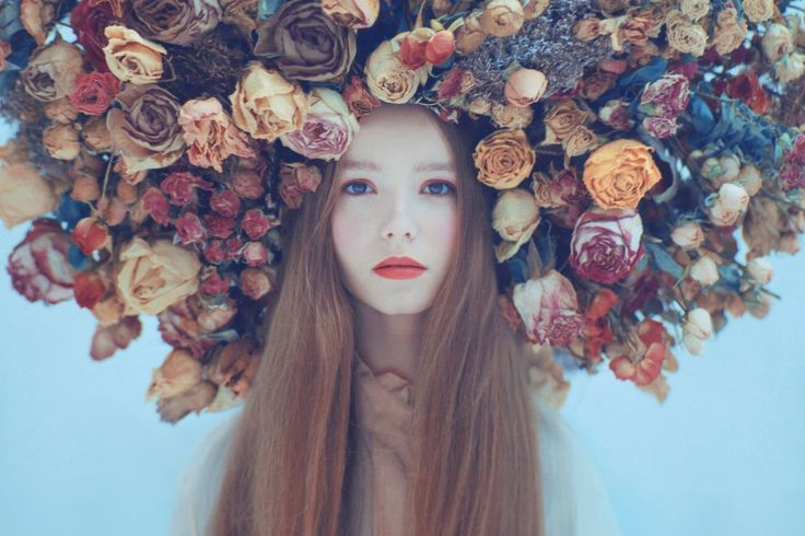 45 Fantastic Flower Crown Portraits To Fall In Love With