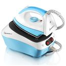 Signature S22002 Steam Generator Iron - 2300W Tackling even the toughest of creases, the Signature 2300W Steam Generator Iron takes the hassle out of tackling the ironing pile. With variable temperature control, the irons 5 programmes let you cho http://www.MightGet.com/january-2017-11/signature-s22002-steam-generator-iron--2300w.asp