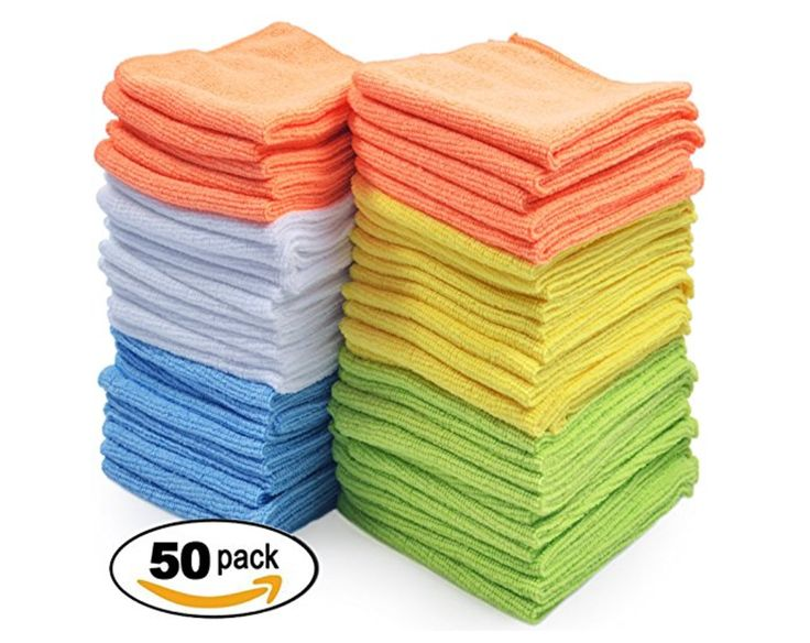 Best Microfiber Cloths, 50 Count Only $19.99 Shipped We have a great Amazon deal today. You can get the Best Microfiber Cloths, 50 count for only $19.99 sh
