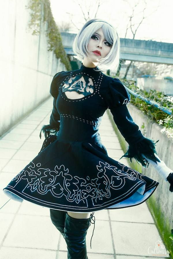 'Nier: Automata' Cosplay Is Hot Right Now | Nerdy Dresses ...