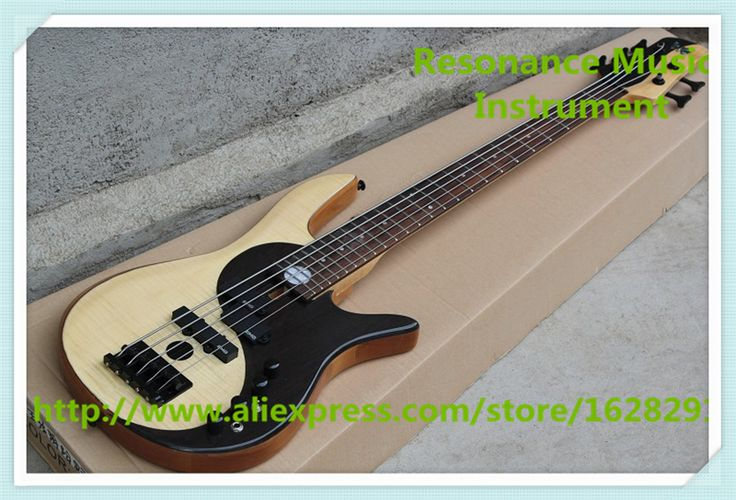 Chinese 5 String Fodera Yin Yang Standard Electric Bass Guitars Left Handed Custom Available