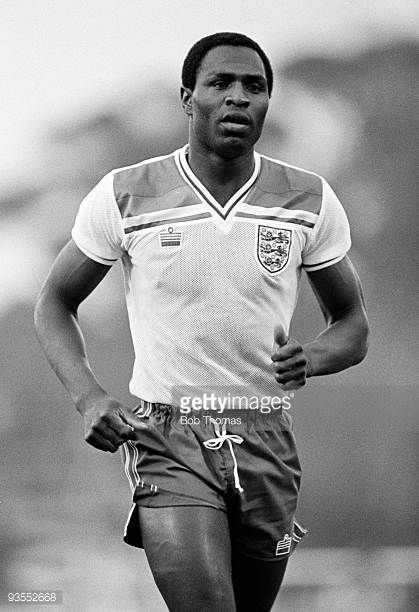 Luther Blissett of Watford and England in action during the England Soccer Tour of Australia match held at Olympic Park Melbourne on 19th June 1983...