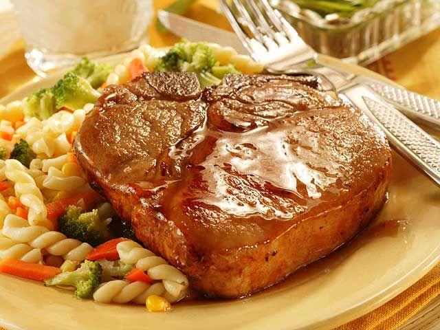 Recipe: Honey-Glazed Pork Chops