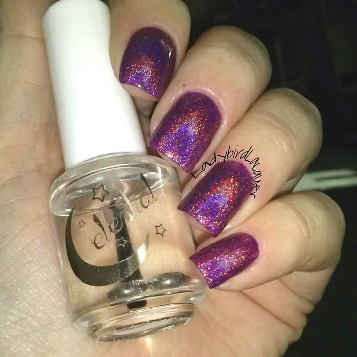 Nebula swatched by @ladybirdlacquer
