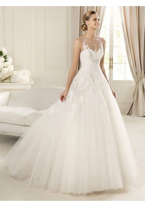 2014 new whiteivory wedding dress custom size 2 4 6 8