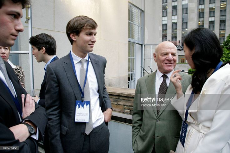 Josh Kushner, Jared Kushner, Barry Diller and Wendi Murdoch attend FOUNDERS CLUB New York & BARRY DILLER welcome TIM ARMSTRONG & JON MILLER at Roof Garden on June 4, 2008 in New York.
