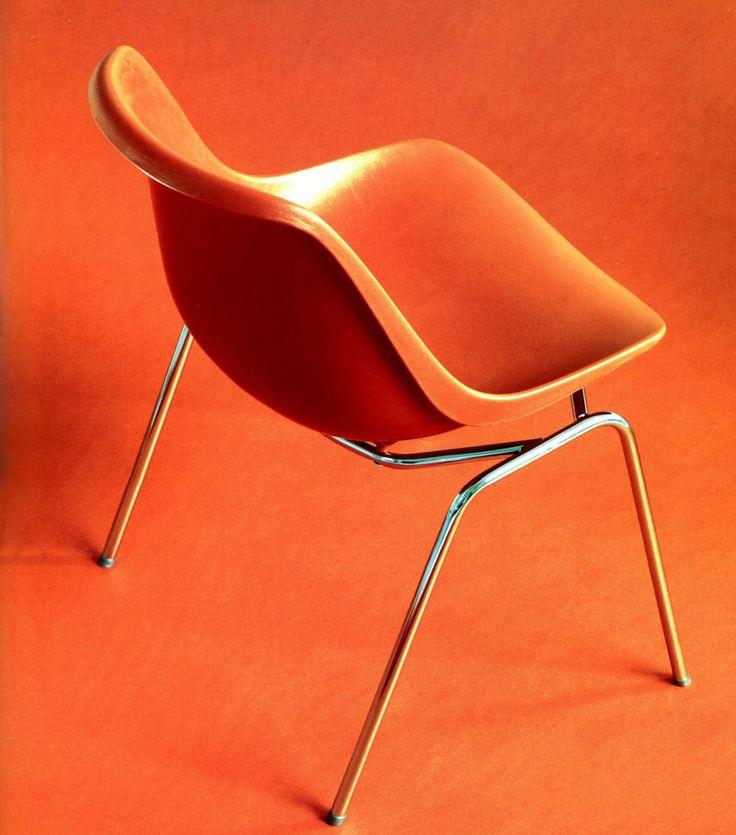 Eero Aarnio's Polaris chair, designed in 1966.