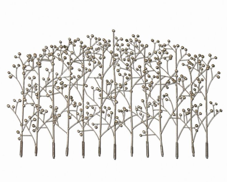Uttermost Iron Trees Metal Wall Art This Features Handcrafted Finished In Antiqued