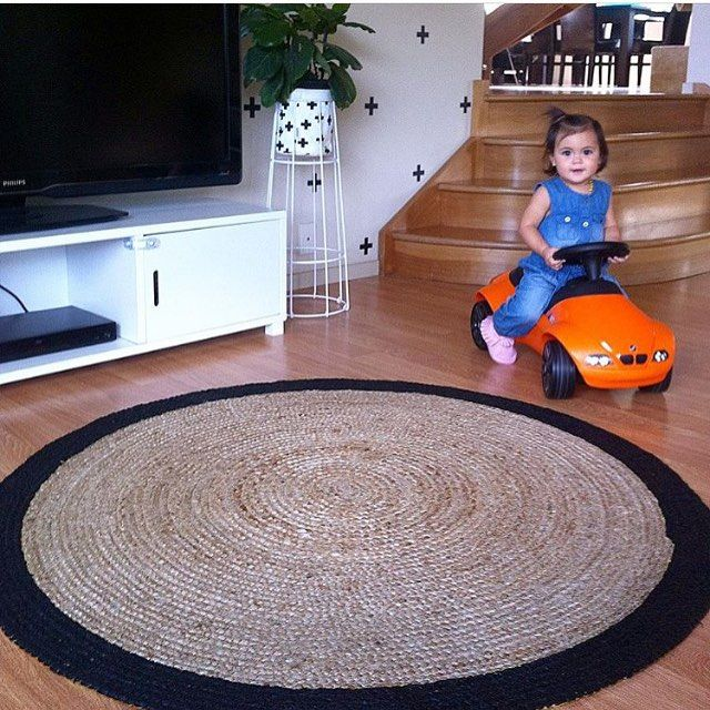 Look at how awesome the Kmart jute rug looks at @masonandharper house, love the #kmarthack with changing the colour to black and also her adorable daughter is wearing Kmart clothes! Thanks for tagging #kuwknz on this and letting us share  #kmart #kmartnz #kuwknz #kmartfans #kmartdesign #kmartstyling #kmartdecor #kmarthomewares #kmartaddictsunite #interiordesign #interiorstyling #homewares #affordable