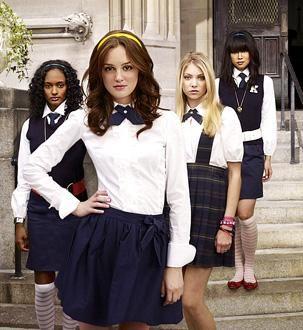 Izzy - preppy school girl outfit