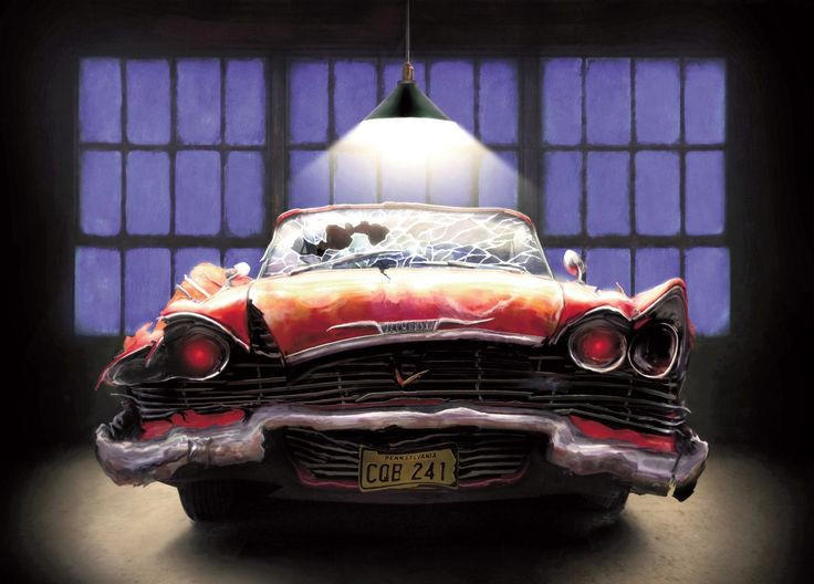 living read girl: Taking a Fright Fall ride with Stephen King's Christine