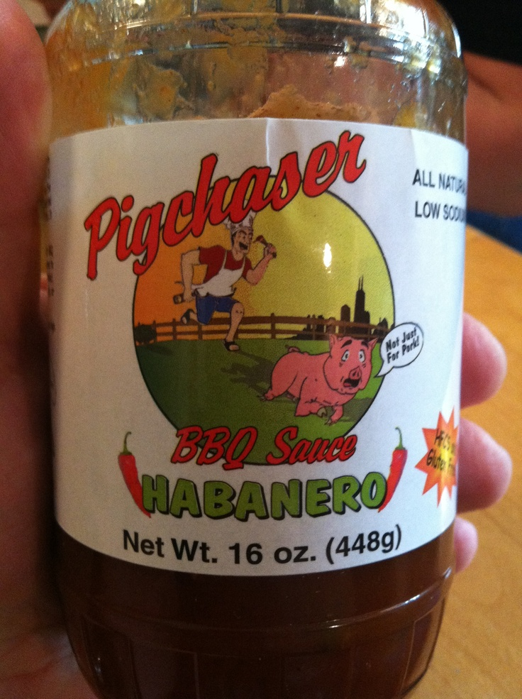 Picked this up at Jungle Jim's 2012 Weekend of Fire. Used on pork tenderloin. Nice heat to go with the pork. Would work well with chicken to! www.pigchaser.com